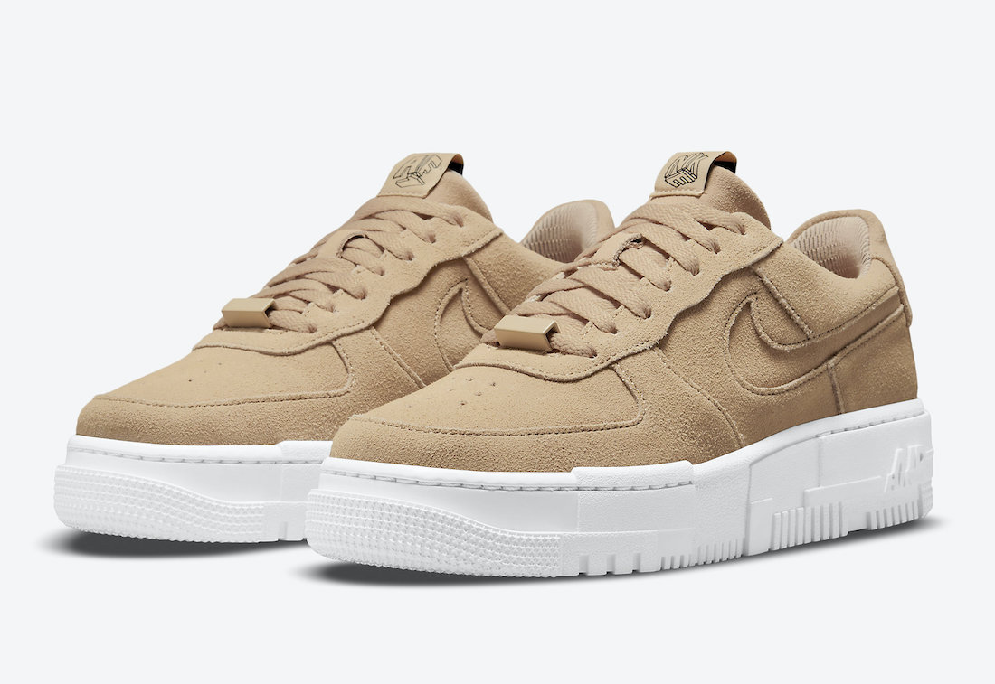 Nike Air Force 1 Pixel Tan Suede DQ5570-200 Release Date