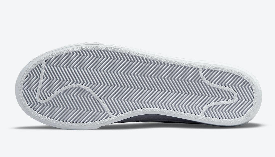 Nike Blazer Low Platform DQ0853-100 Release Date