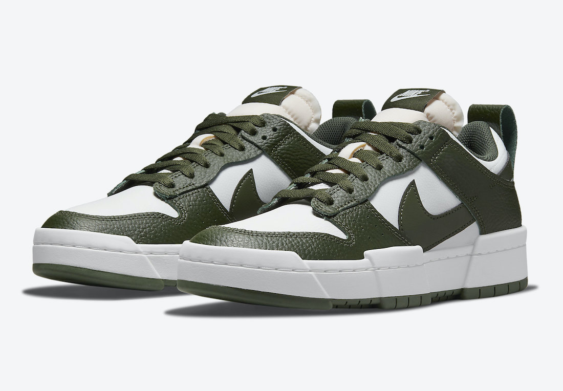 Nike Dunk Low Disrupt Dark Green DQ0869-100 Release Date