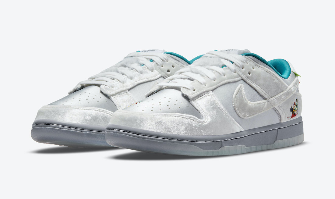 Nike Dunk Low Ice DO2326-001 Release Date