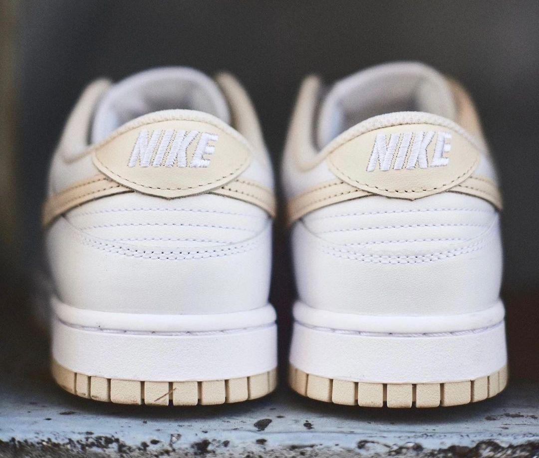 Nike Dunk Low Pearl White WMNS DD1503-110 Release Date