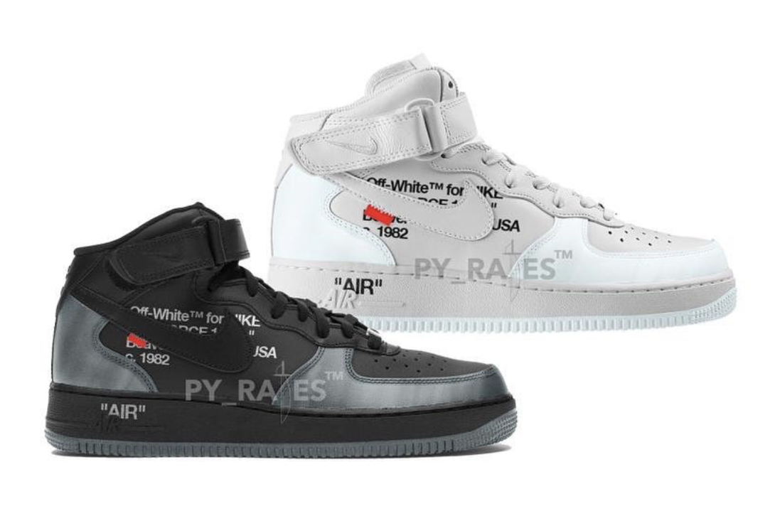 Off-White Nike Air Force 1 Mid 2022 Release Date