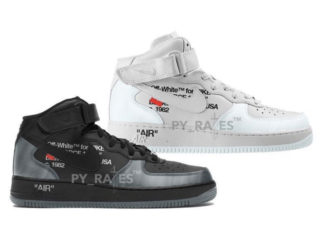 Off-White x Nike Air Force 1 Mid Release Date