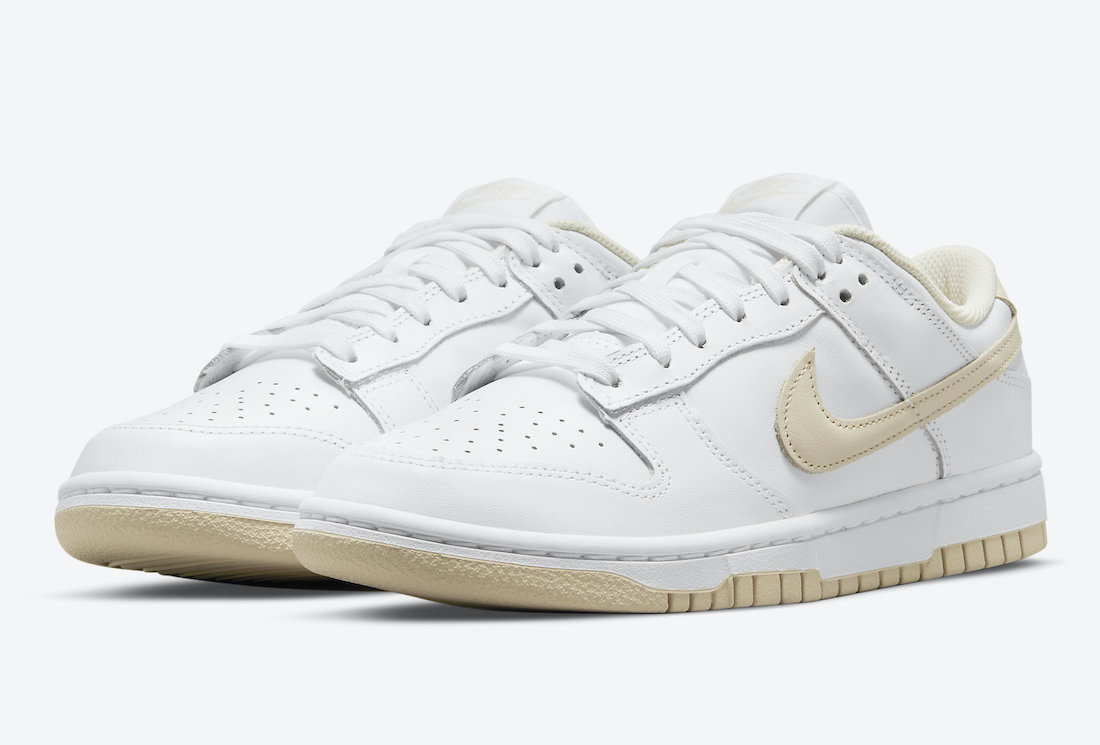 Womens Nike Dunk Low Pearl White DD1503-110 Release Date