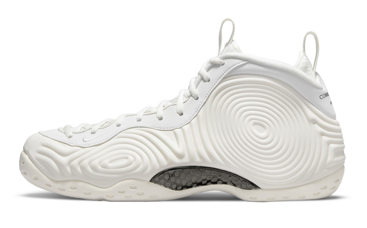 Comme des Garcons CDG Nike Air Foamposite One White DJ7952-100 Release Date