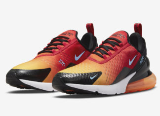 Nike Air Max 270 Sunset DQ7625-600 Release Date