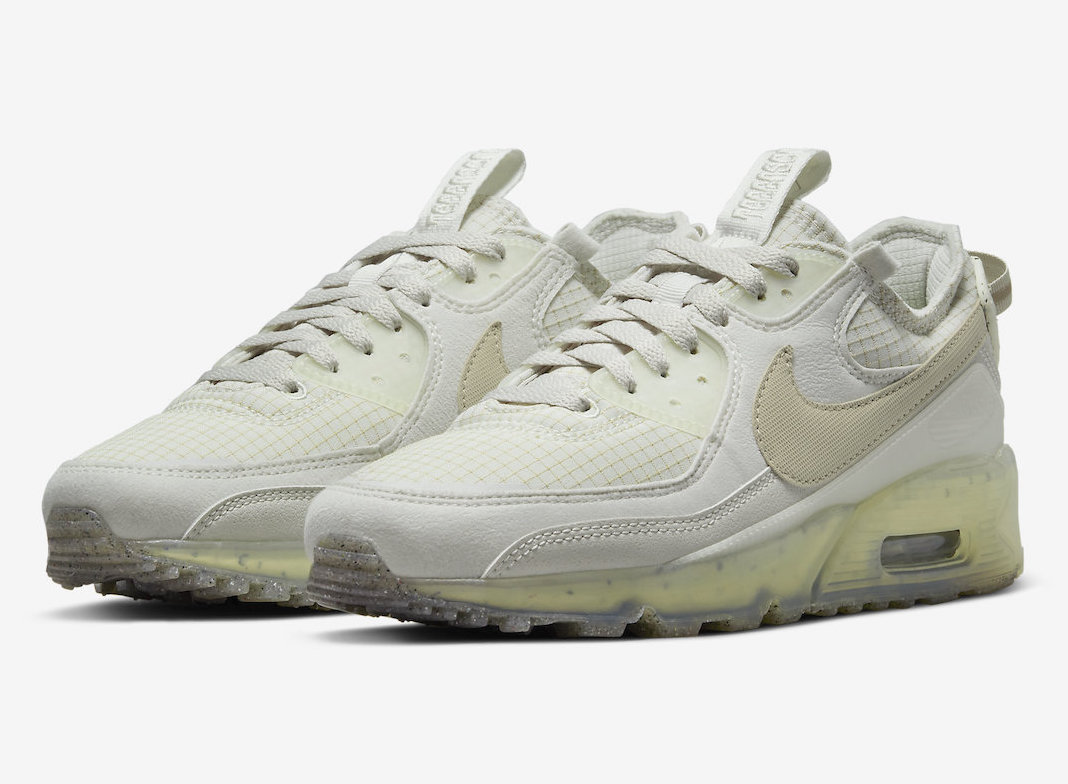 """Official Photos of the Nike Air Max 90 Terrascape """"Light Bone"""""""
