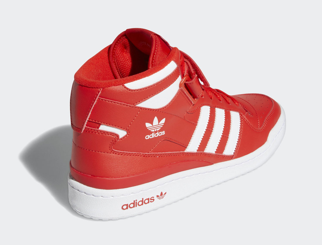 adidas Forum Mid Red White GY5792 Release Date 2
